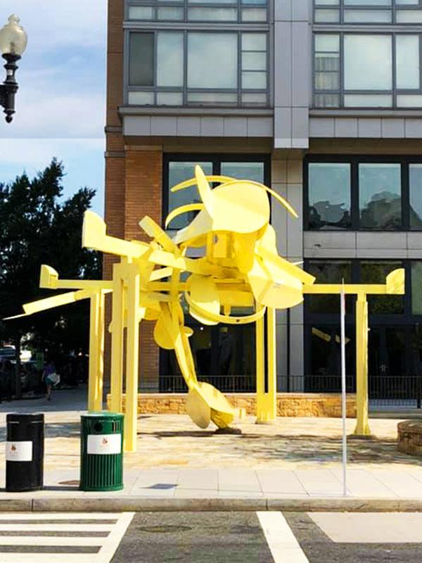 David Black Liftoff Sculpture in Washington DC