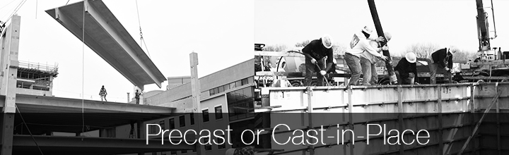 Parking Structure Options: Precast vs. Cast-in-Place