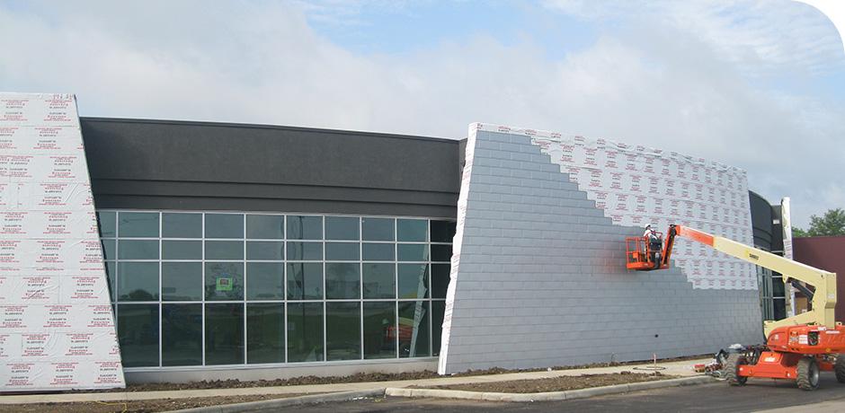 Construction spotlight insulating concrete forms schaefer for Insulated concrete form construction