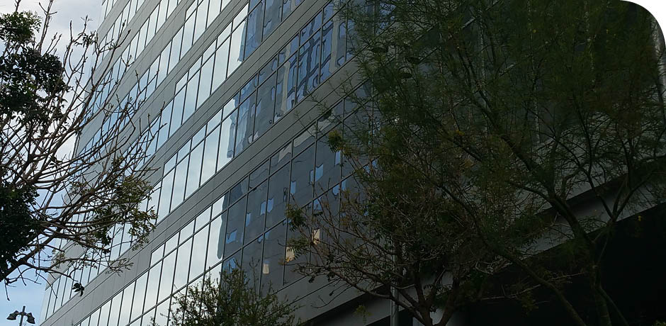 New Phoenix Office Building Entrance