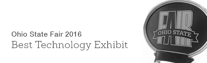 Structures Booth Wins Best Technology Exhibit at Ohio State Fair