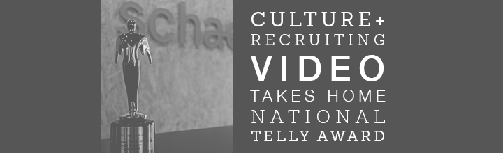Schaefer Recruiting Video Wins Telly Award