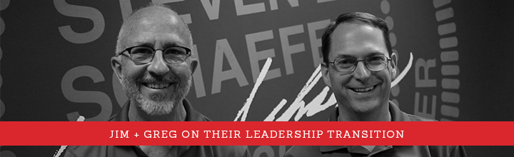 Jim + Greg on Their Leadership Transition [VIDEO]