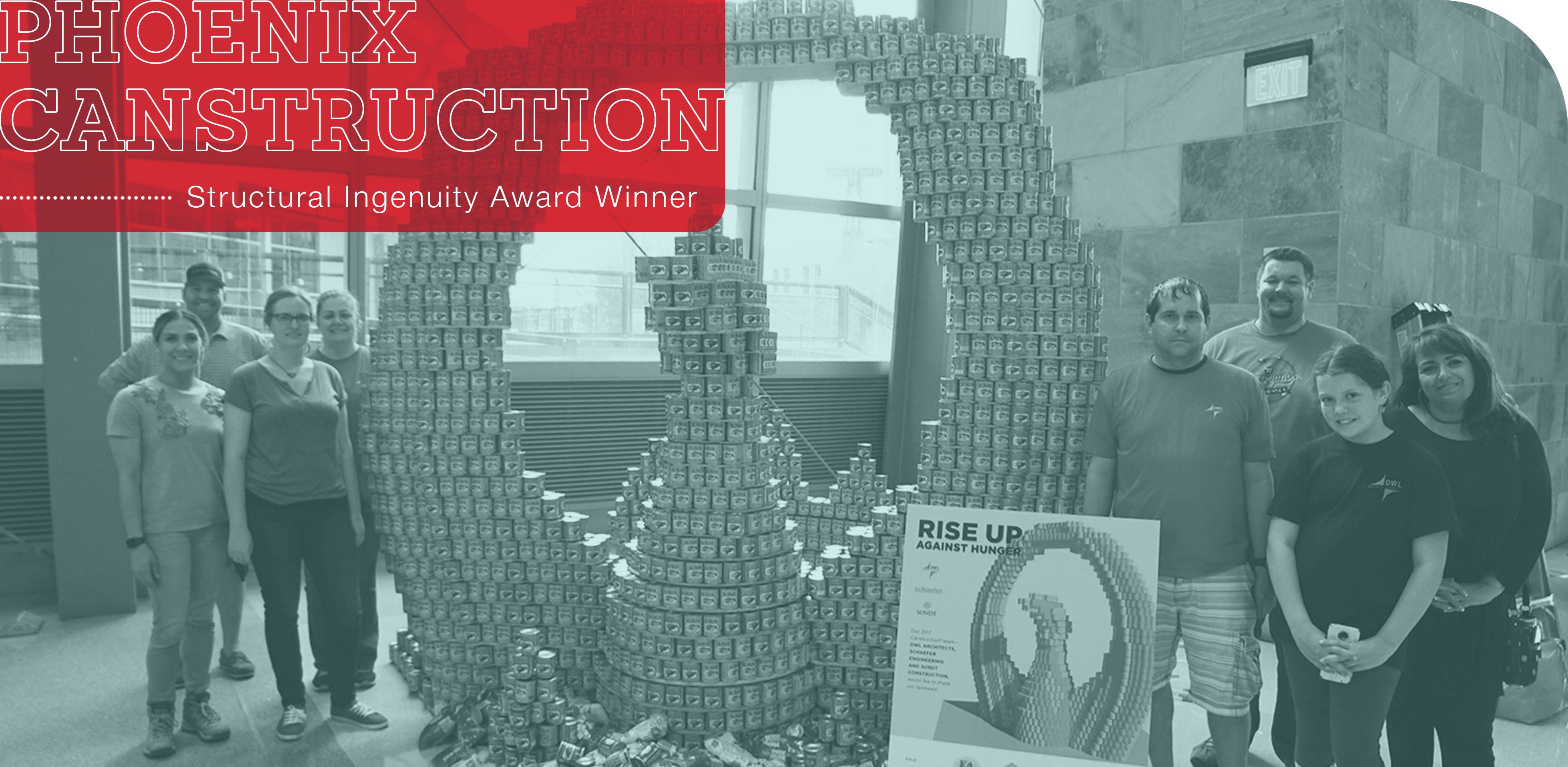 Phoenix Canstruction Structural Ingenuity Award Image