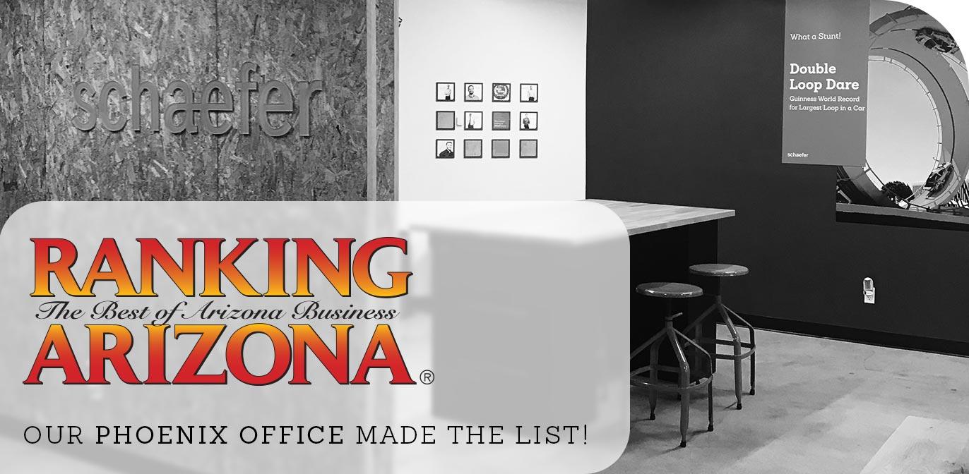 Ranking Arizona 2018 Schaefer Phoenix Office blog post
