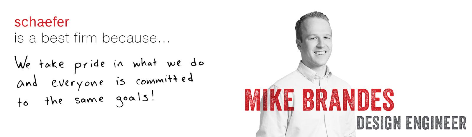 Careers Testimonial - Mike Brandes