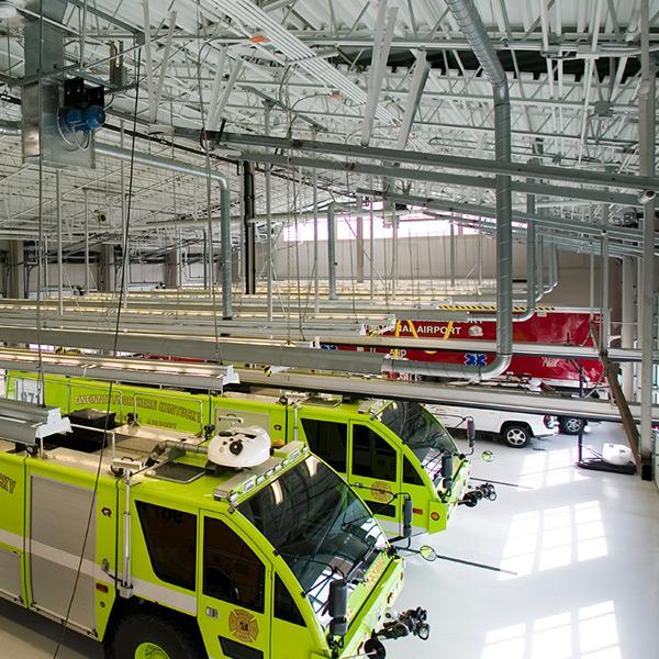 Cincinnati/Northern Kentucky Airport Aircraft Rescue Firefighting Facility | Hebron, Kentucky