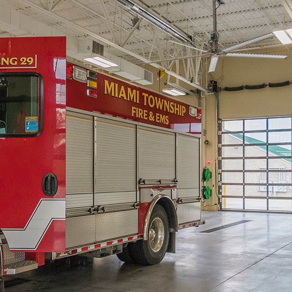 Miami Township Fire + EMS Substation | Milford, Ohio