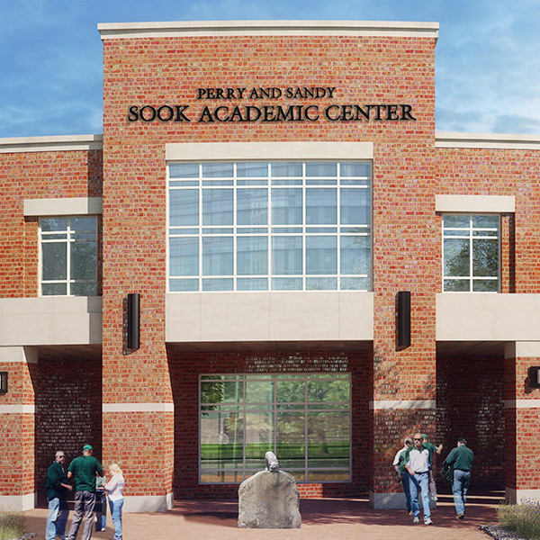 Ohio University Perry + Sandy Sook Academic Center | Athens, Ohio