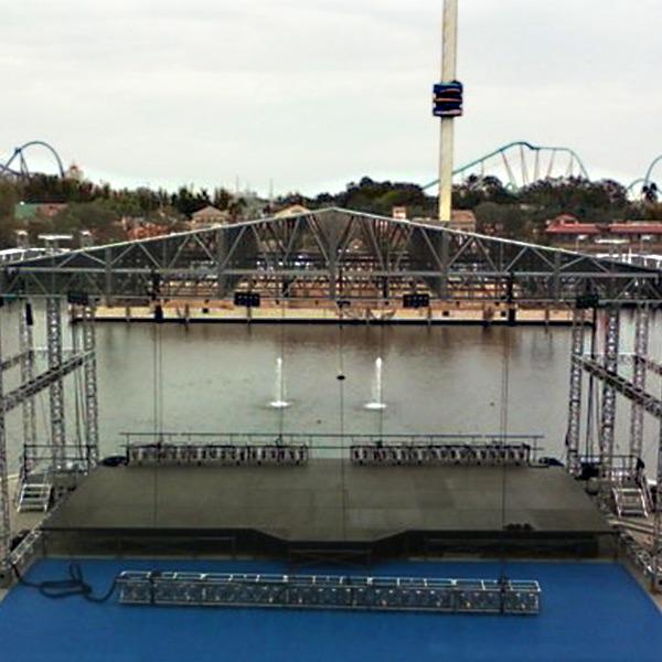 SeaWorld Temporary Roof System | Orlando, Florida