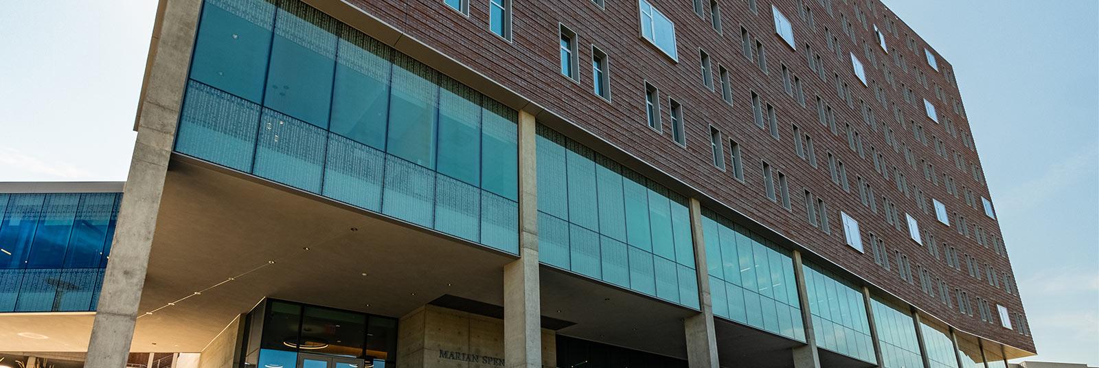 University of Cincinnati Marian Spencer Hall in Cincinnati, Ohio.