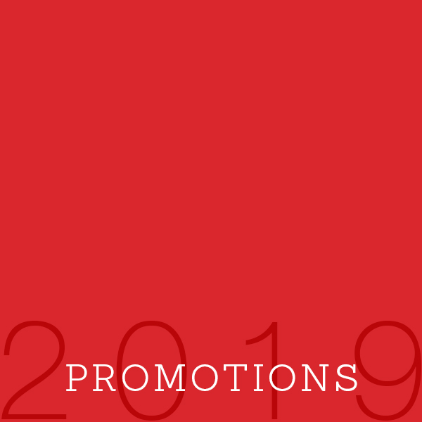 2019 Promotions Featured Image