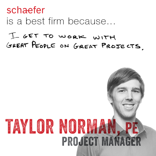Taylor Norman Project Manager Best Firm Testimonial