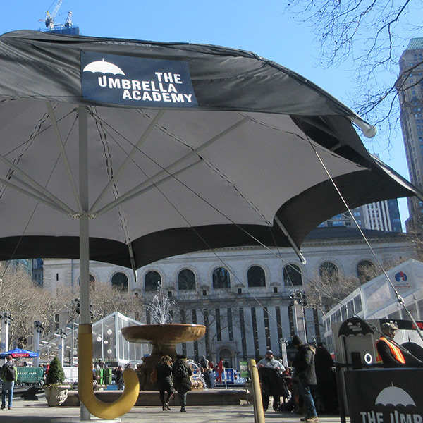 The Umbrella Academy Promotional Structure | New York City, New York