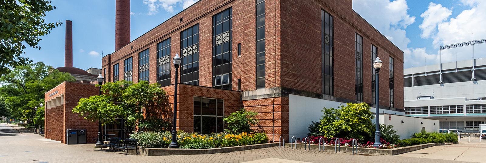 The updated OSU Enarson Hall in Columbus, Ohio