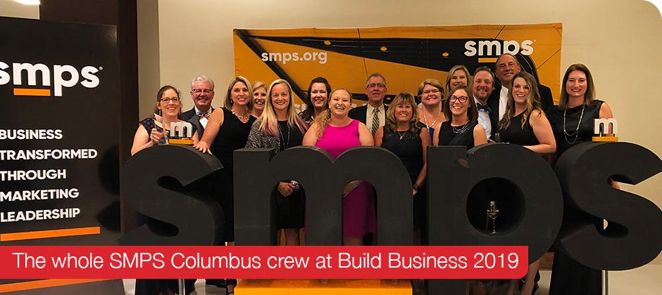 SMPS Columbus crew at Build Business 2019