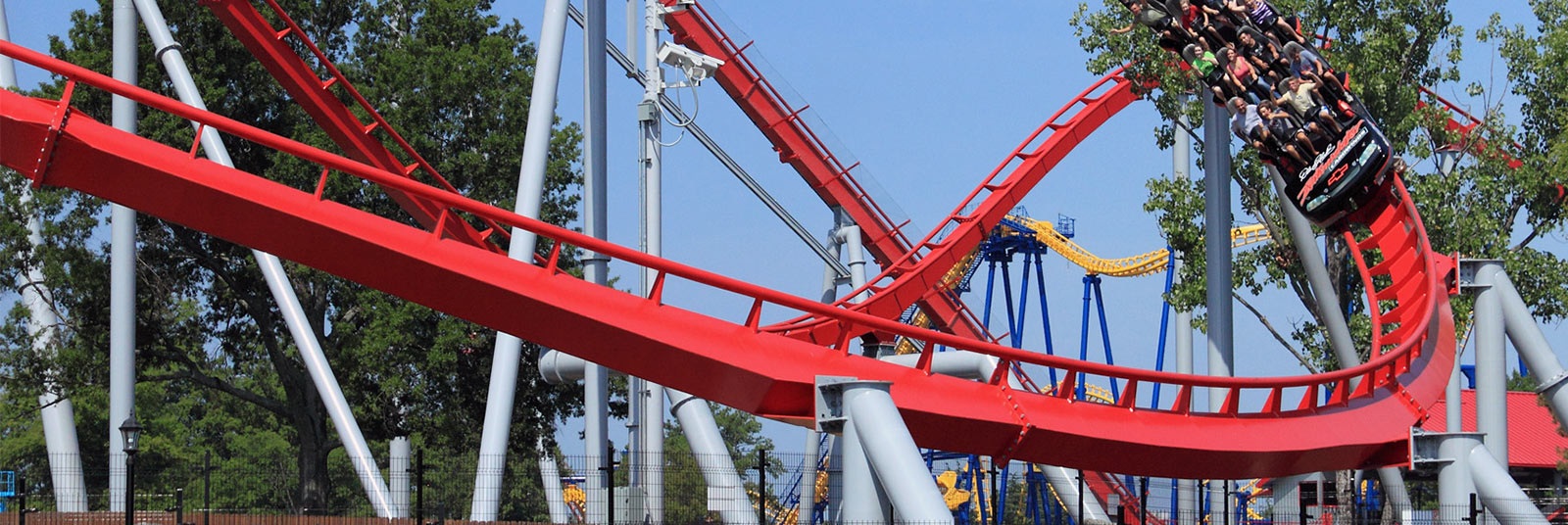 Carowinds Intimidator Theme Park