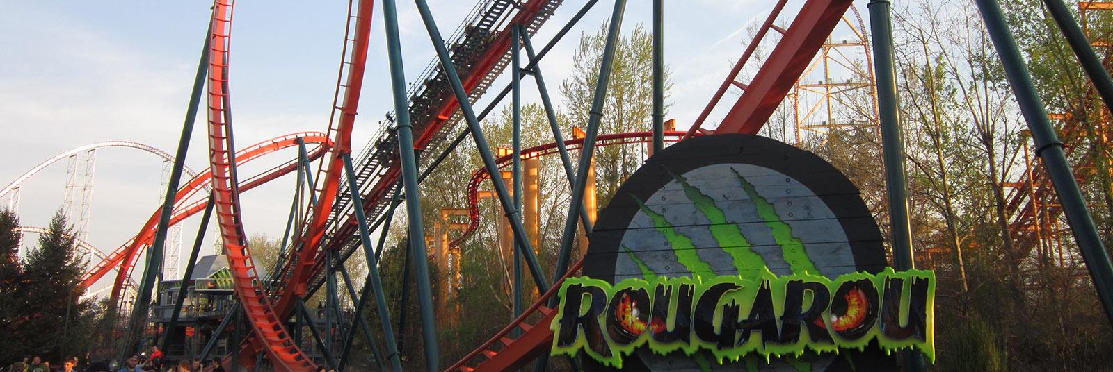 Cedar Point Rougarou Sandusky Ohio Theme Park