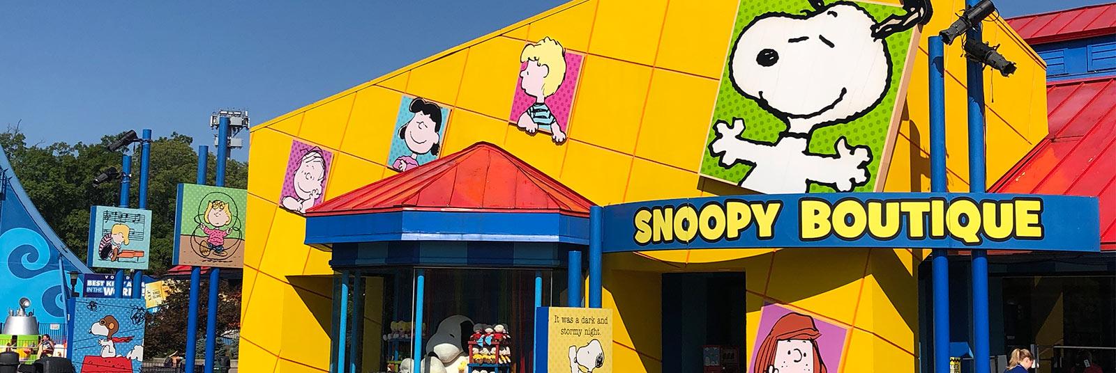 Cedar Point Planet Snoopy Themed Entertainment Design Sandusky Ohio
