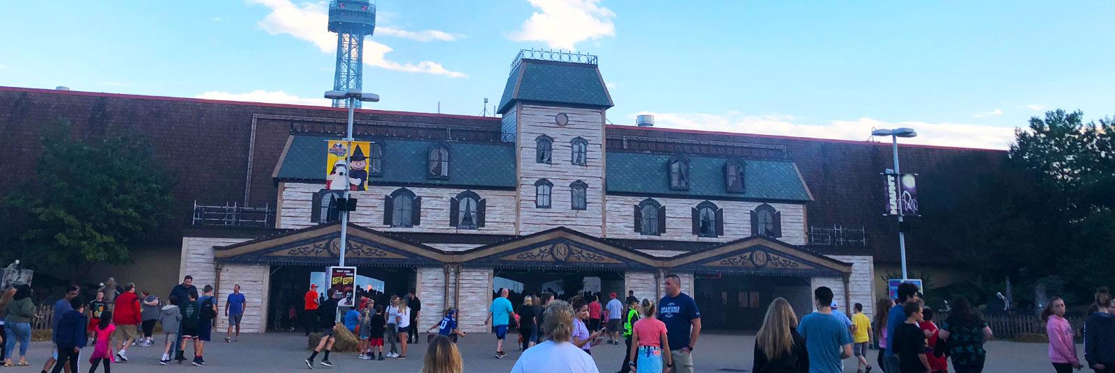 Cedar Point Halloweekends Themed Entertainment Design Sandusky Ohio
