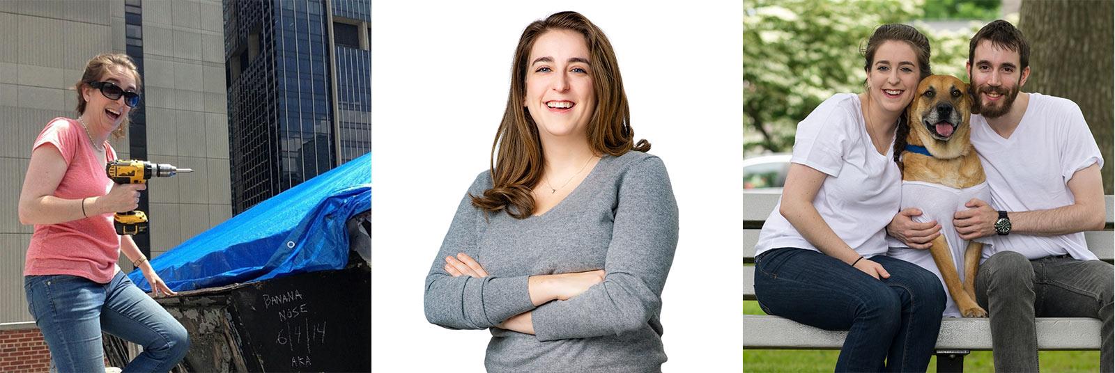 Laura Goodman PE Project Manager Staff Spotlight Collage 1