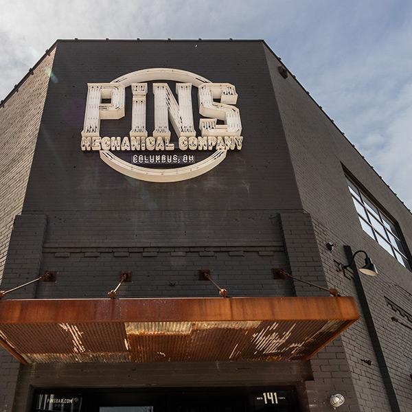 PINS Mechanical Downtown Columbus, Ohio