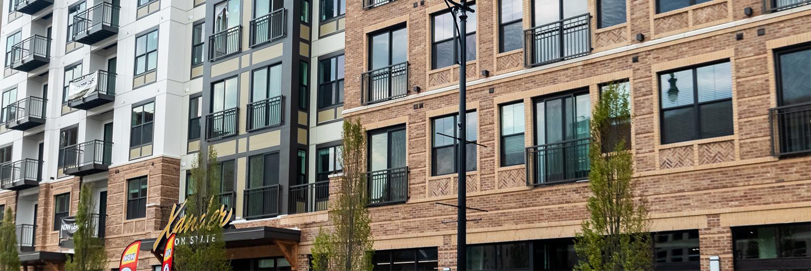 Xander on State multi-family housing development in Columbus, Ohio.