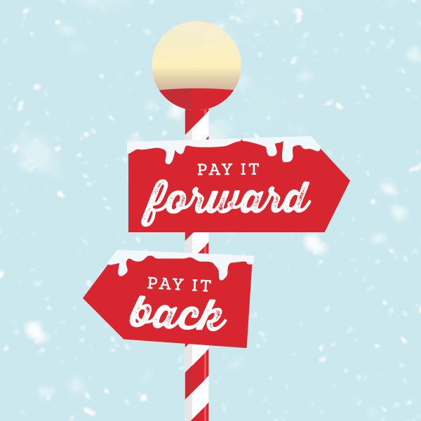 Pay it Forward, Pay it Back | Schaefer Holiday Campaign 2020