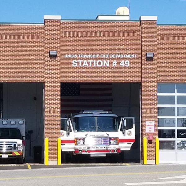 Union Township Fire Department Station #49 in Cincinnati, Ohio
