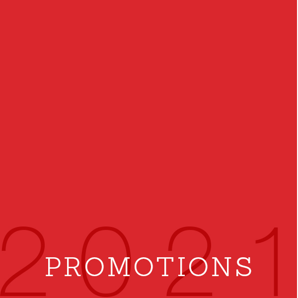 2021 Promotions Featured Photo
