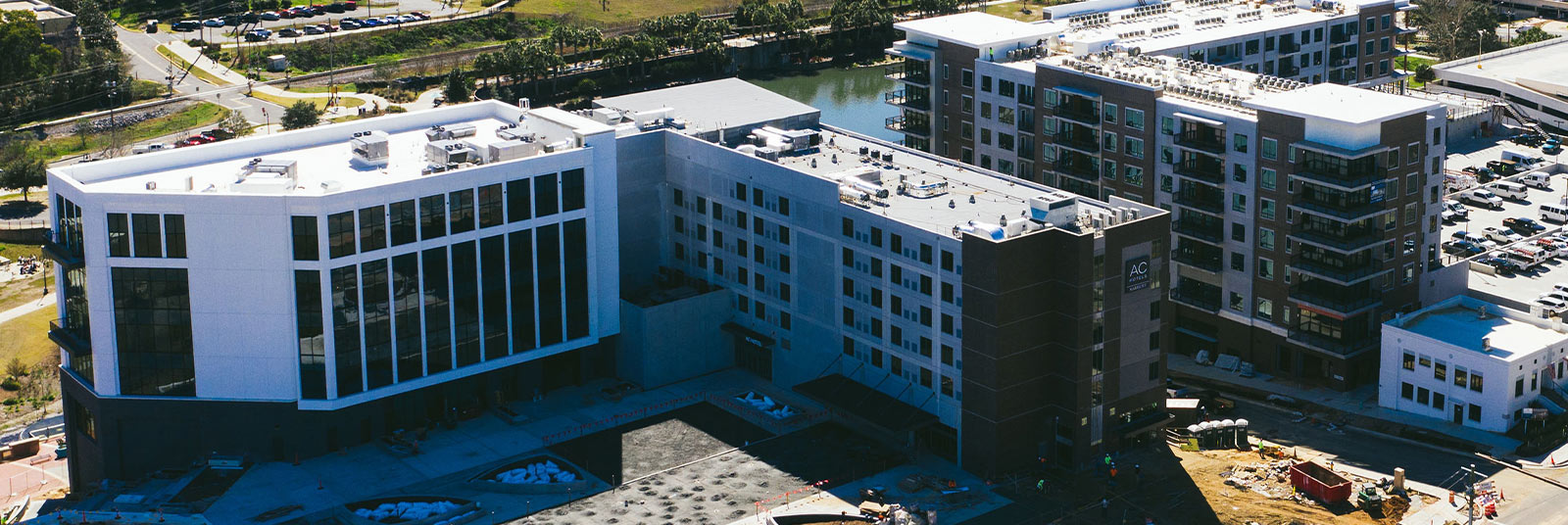 Aerial view of the AC Tallahassee in Florida.